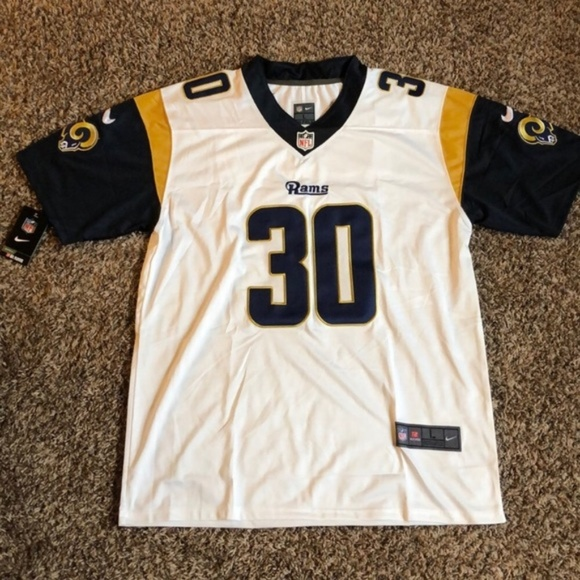 the latest 7ccc4 7eb09 #30 Los Angeles Rams Todd Gurley II Jersey NWT